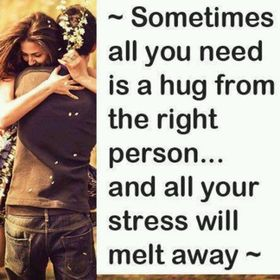 Sometimes all you need is a hug... Nice ecard! Sometimes all you need is a hug from the right person... and all your stress will melt away... Free Download 2021 greeting card