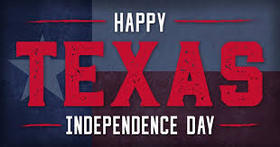 Texas independence day... Greeting card for you... Beautiful inscription on an unusual background... Free Download 2019 greeting card